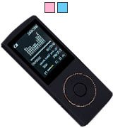 HccToo 685-black Portable Lossless Sound MP3 Player 45 Hours Playback