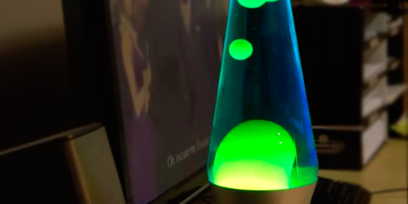 Review of Lava Lamp Classic Green