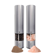 Oliver's Kitchen Premium Electric Salt and Pepper Mill Set