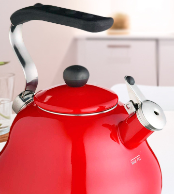 Review of KitchenCraft Le'Xpress Induction-Safe, 2 L Whistling Stovetop Kettle