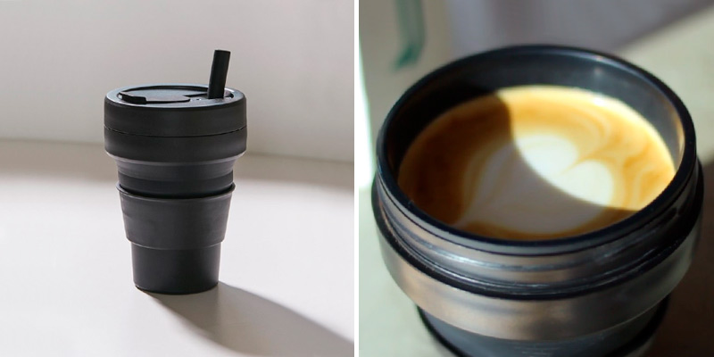 Review of Stojo On The Go Pocket Size Collapsible Silicone Travel Cup