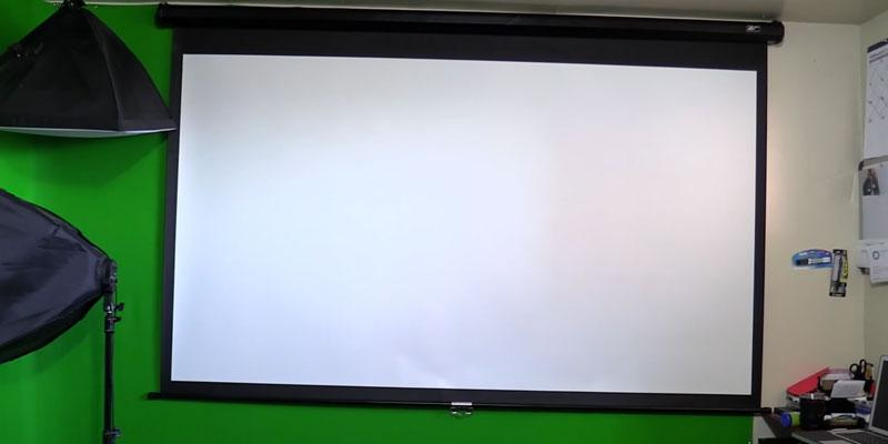 Review of VonHaus 05/050 90-Inch Projector Screen