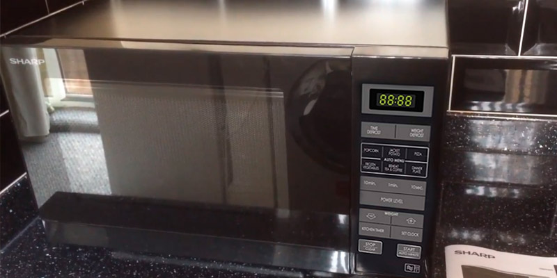 Review of Sharp R372KM Solo Microwave