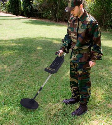 Review of Visua Metal Detector