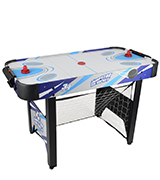 JumpStar Sports 3-In-1 Multi Games Table Childrens Air Hockey, Football, Basketball