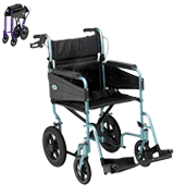 Days Escape Lite Attendant Lightweight and Foldable Frame