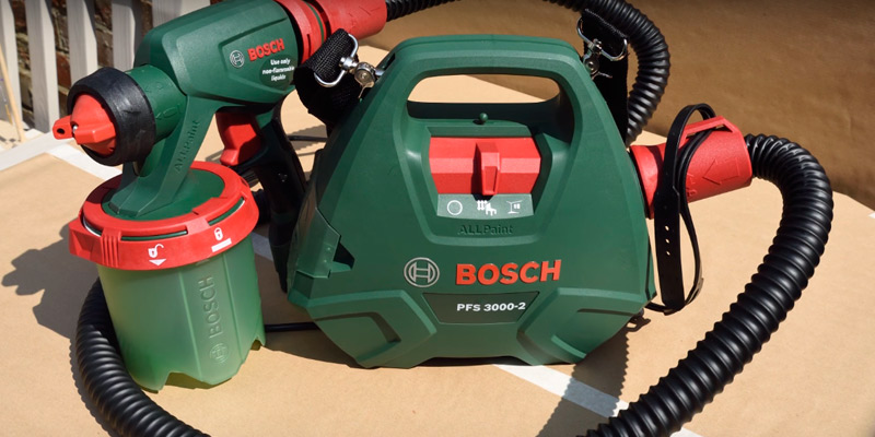 Review of Bosch PFS 3000-2 All-Paint All Paint Spray System