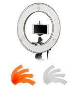 EACHSHOT ES180 Kit Stepless Adjustable Ring Light with stand