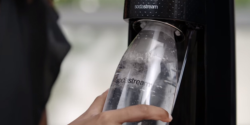 SodaStream Fizzi Sparkling Water Maker in the use
