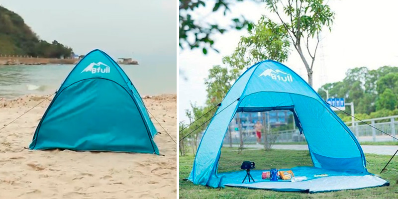 Review of Bfull Anti-UV Automatic Pop up Beach Tent