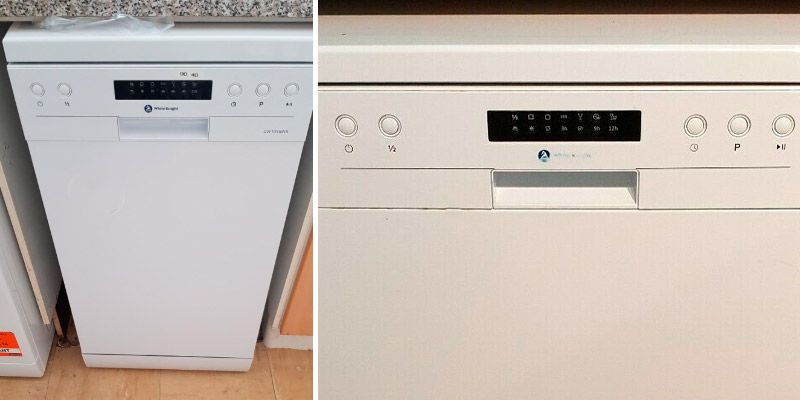Review of White Knight DW1045WA 10 Place Slimline Freestanding Dishwasher