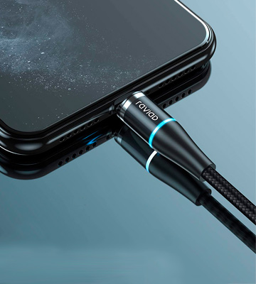 Review of RAVIAD (RI-032-BK) 3 in 1 Magnetic Charging Cable