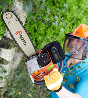Review of ParkerBrand 62CC Petrol Chainsaw