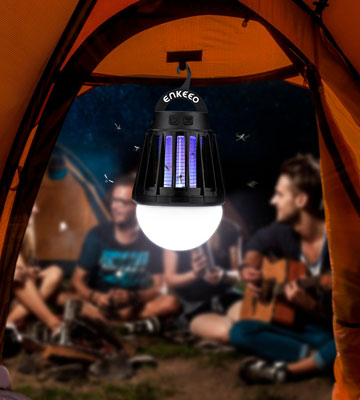 Review of ENKEEO 213434001 Camping Lantern Mosquito Zapper