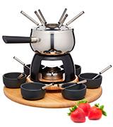 KitchenCraft Master Class Artesa Stainless Steel Fondue Set