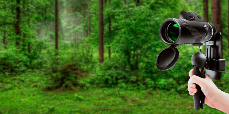 BNISE 13x50 Monocular in the use