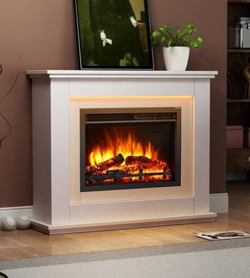Review of Endeavour Fires and Fireplaces Castleton Electric Fireplace Suite