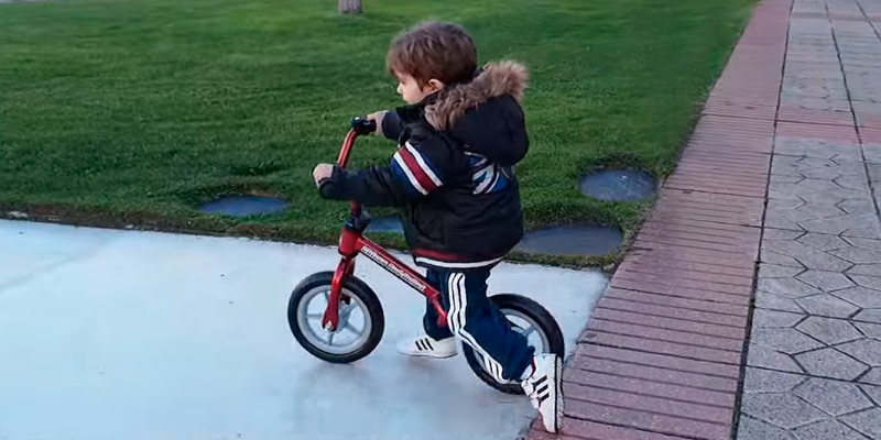 Detailed review of Chicco Red Bullet Balance Bike