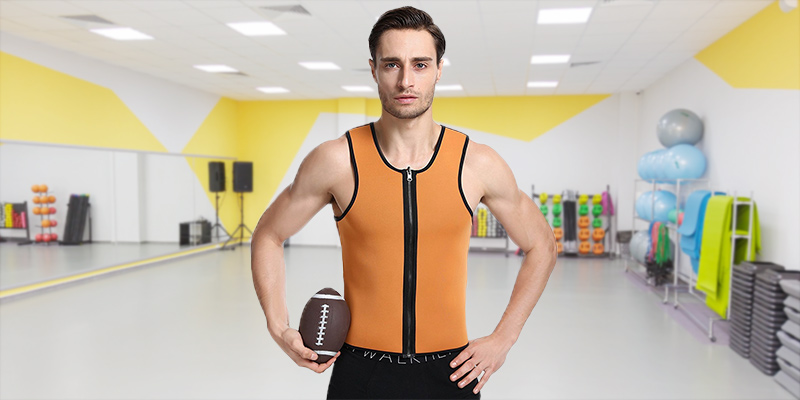 Review of LaLaAreal Neoprene Men's Tank Shirt