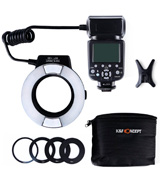 K&F Concept KF-150 Macro Ring Flash Light For Nikon