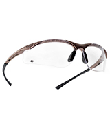 Bolle CONTPSI Contour Safety Glasses, Clear