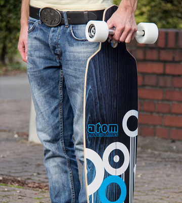 Review of Atom Drop Longboard