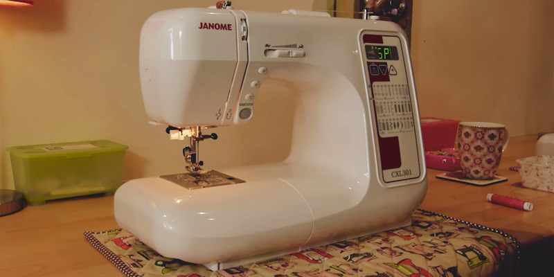 Review of Janome CXL301 Sewing Machine