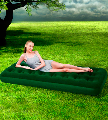 Review of UKHobbyStore Single Inflatable Airbed