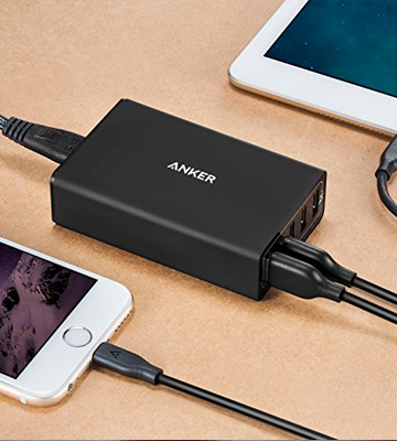 Review of Anker AK-A2124212 UL-Certified USB Charger PowerPort