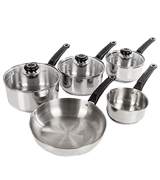 Morphy Richards Equip 5-Piece Stainless Steel Pan Set