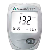 Easy Life Cholesterol Monitor kit 3 in 1 meter system Blood Cholesterol, blood glucose and blood uric acid test kit