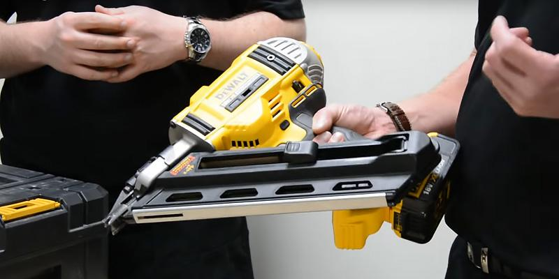 DEWALT DEW-DCN692N Cordless Brushless Framing Nailer in the use