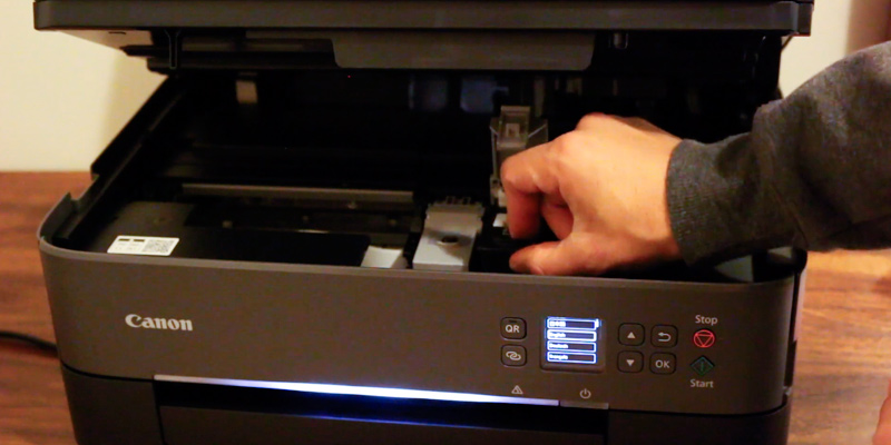 Canon TS5350 All-in-One Wi-Fi Printer in the use