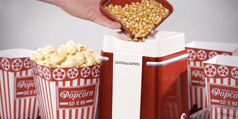 Review of Andrew James Classic Retro Hot Air Popcorn Maker