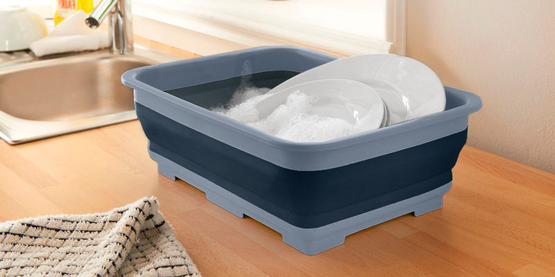 Review of KitchenCraft Smart Space Plastic Collapsible Washing-Up Bowl