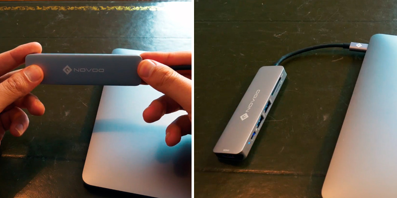Review of NOVOO 5 in 1 USB-C Hub Aluminum with HDMI 4K Adapter