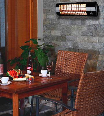 Review of Firefly Wall Mounted Quartz Heater