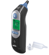 Braun IRT6520B ThermoScan 7 Ear Thermometer with Age Precision