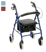 Drive DeVilbiss Healthcare R8 Rollator with Seat
