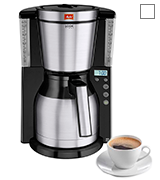 Melitta Look IV Therm Timer, 1011-16 Filter Coffee Machine with Insulated Jug