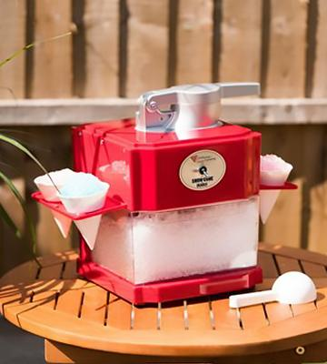 Review of JM Posner Simply Entertaining Snow Cone Maker