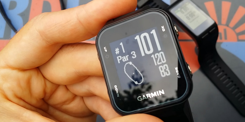 Review of Garmin Approach S20 GPS Golf Watch