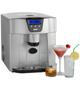 VonShef 13/101 Digital Ice Maker/Dispenser Machine with LCD Display