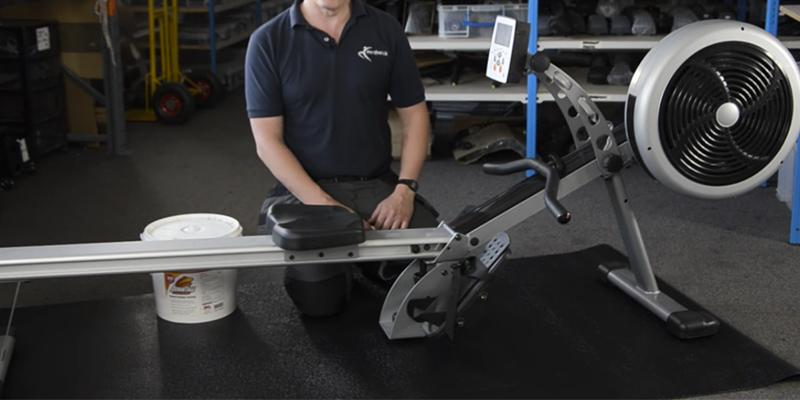 Detailed review of JTX Fitness Foldable Air Rower Foldable Superior Rowing Machine