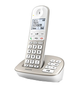 Philips XL4951S/05 Cordless Phone with Answering Machine, 4.8 cm Display and White Backlight