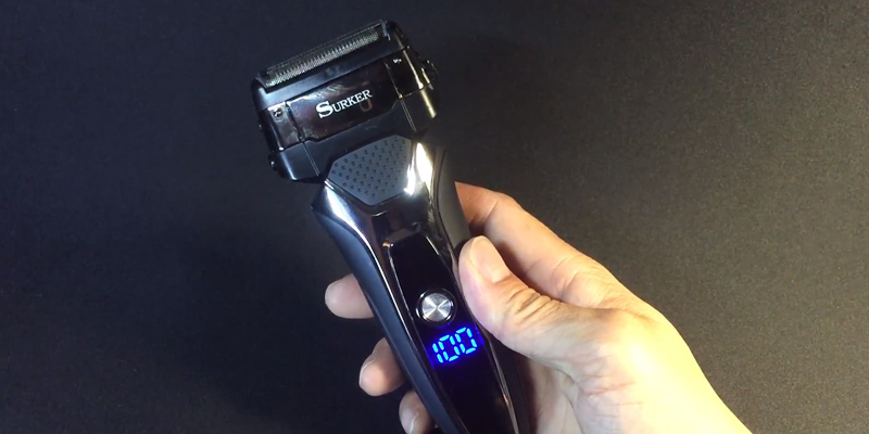 Review of SURKER RSCW-9008 Men's Electric Foil Shaver Razor