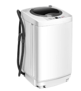 Costway GB16722PE 2 in 1 Portable Washing Machine