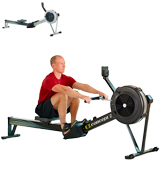 Concept2 Model D Indoor Rower with PM5 Monitor