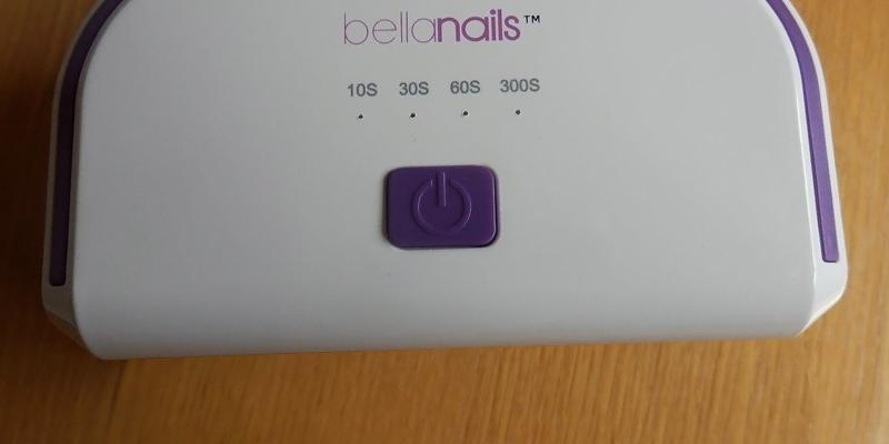 Review of BellaNails Professional LED Nail Lamp