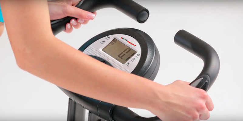Ultrasport F-Bike Heavy Trainer Exercise Bike in the use